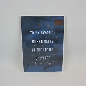 Minted. x Target 'To My Favorite Human Being' Foil Pressed Greeting Card - New