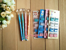 4 pcs M&G HB Pencil with mini magnifying glass+4pcs HB Pencil leads