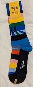 LAST!!!  THE BEATLES HAPPY SOCKS (10 -13) Limited Edition ABBEY ROAD, Cotton