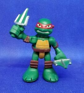 "2014 TMNT RAPHAEL 2.5"" PLAYMATES FIGURE -  TEENAGE MUTANT NINJA TURTLES"