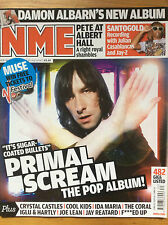 NME 26/7/08 Primal Scream cover, Ida Maria, Edwyn Collins