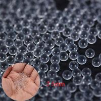 200pcs 2.5 mm fronde lance-pierres cibles en verre catapulte boules fronde BB