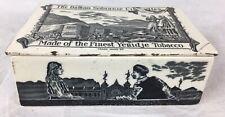 More details for antique ceramic balkan sobranie tobacco advertising box, robert lewis - london