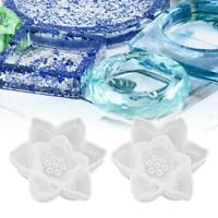 Silicone Mold Crystal Epoxy Mould Lotus Flower DIY Craft Resin Casting Molds