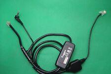 Plantronics APV-6A Electronic Hookswitch EHS Cable For CS55 CS70 510S AVAYA 1408