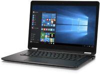 "Dell Latitude E7470 Intel i5 6200u 2.30Gb 8/16Gb Ram 256/480Gb SSD 14"" HD Win 10"