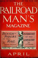 Vintage The Railroad Man's Magazine {21 Issues} 1909~1912 {.pdf on DVD
