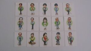 Snooker Celebrities 1988 Embassy Cigarette Cards x 15