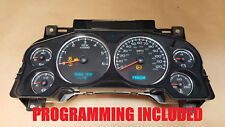 Silverado, Yukon, Sierra, Tahoe Instrument Gauge Cluster Speedometer