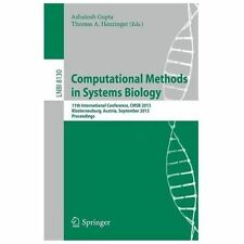Computational Methods in Systems Biology : 11th International Conference, Cms...