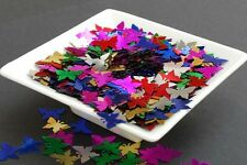 25g  Multi Coloured Butterflies -Confetti Sequins, Spangle