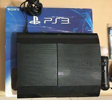 Playstation 3 Ultra slim 12 GB + HD 160 GB, controller , PS Move, cam, giochi