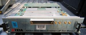 IXIA  HSE40GETSP1-01 40Gb/s Wire Speed Ethernet / IP Test Module