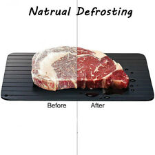 Kitchen Magic Fast Metal Thawing Plate Defrosting Tray Defrost Meat for Cooking