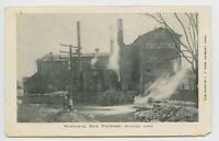 Danbury, CT - NATIONAL HAT FACTORY - PRE 1908 OCCUPATIONAL UDB Postcard - J
