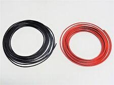 100' 14 AWG BLACK & RED THHN THWN-2 THWN STRANDED COPPER BUILDING WIRE 50 FT EA