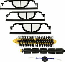 Roomba 400 3 Brush Replenish Kit Beater 2 x Side brush with 2 filters