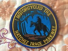 Patch Motorcycled Natchez Trace Parkway Alabama Tennessee Mississippi