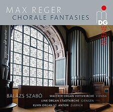 Max Reger: Choralfantasien - Balázs Szabó (2016 Orgelmusik, Hybrid-SACD)