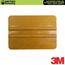 "3M Hand Applicator Squeegee PA1-G Gold 4"" for Vinyl Wraps Window Tinting Decals"