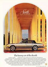 1979 Cadillac Seville Original Advertisement Print Art Car Ad J903