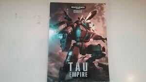 Games Workshop Warhammer 40,000 Tau Empire Codex 2012 Paperback