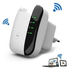 White WiFi Router Repeater Network Range Expander Wireless 300m Signal Booster