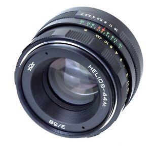 Helios 44M Lens 58mm F 2 Mount M42 (Réf#C-602)