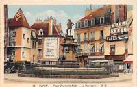 CPA 21 DIJON PLACE FRANCOIS RUDE