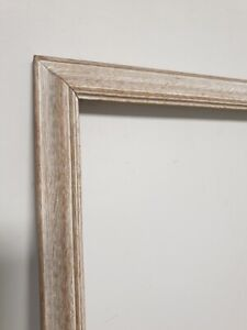 CUSHION FRAME (inverse profile) rebate 51 cm x 41.1 cm, frame 57 cm x 47 cm