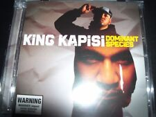 King Kapisi ‎– Dominant Species (Australia) 2 CD With Remix Disc – Like New