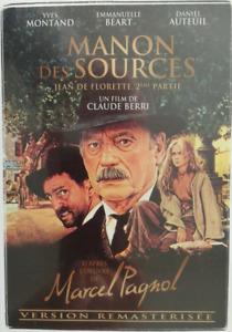 DVD - MANON DES SOURCES / PAGNOL, MONTAND, AUTEUIL, BEART, PATHE, NEUF