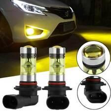 2Pcs 9005 HB3 4300K Yellow 100W Car LED Fog DRL Driving Light Bulb 20SMD 2835