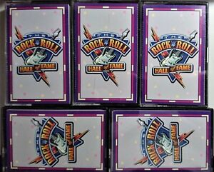 The Rock 'N' Roll Hall Of Fame. Cassettes x 5. Various Reader`s Digest. Rock Pop