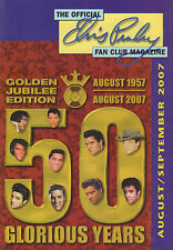 OFFICIAL ELVIS PRESLEY FAN CLUN MAGAZINE 2007 AUGUST/SEPTEMBER