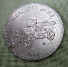 MERCEDES 60 H 1903. pag. AUTO SHELL COIN TOKEN
