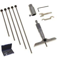 """Depth Micrometer 0-6""""  WIDE 4"""" BASE Machinist Mic Gauge Gage Tool"""