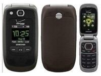 Samsung Convoy 2 U660 - Black Verizon or Page Plus 3G Cellular Flip Phone New
