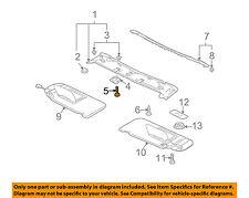 MITSUBISHI OEM 07-12 Eclipse Interior-Roof-Header Trim Screw Right MF200316