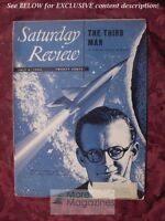 Saturday Review July 5 1952 ARTHUR C. CLARKE EDGAR ANSEL MOWRER CARL M. WHITE