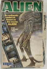 ALIEN : ALIEN MODEL KIT MADE BY MPC IN 1979 - LARGE BOX VERSION
