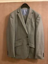 "Mens Primark Space Grey Suit Jacket 38"" R Trousers 32"" R"