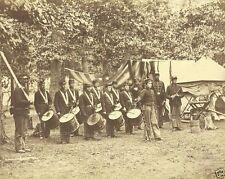 93rd New York Infantry Drums Corps Bealton Va 1863 New 8x10 US Civil War Photo