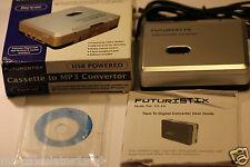 Futuristix CONVERTITORE DA CASSETTA A MP3 USB o Alimentato A Batteria Casella
