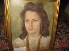 EBERZ-ALBER  Gertrud, *1879 Junges Mädchenportrait