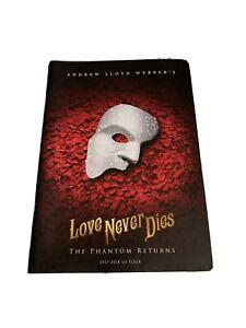 Love Never Dies Broadway Musical Souvenir Program