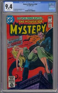 HOUSE OF MYSTERY #290 CGC 9.4 1ST I... VAMPIRE WHITE PAGES