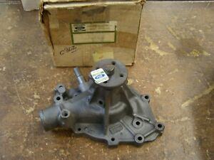 NOS OEM Ford R/M Water Pump 1965 1969 Mustang Fairlane Galaxie 1966 1967 1968 +