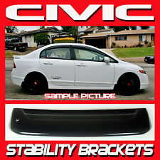 2007 Honda Civic 4dr Sedan FD FA Rear Windshield Roof Sun Spoiler with Brackets