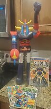 Jumbo Shogun Warriors Raydeen figure with bonus comic issues #1-5